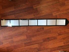 3 Film strip photo frames