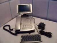 2 XAmstrad telephone and E mailer /SMS communication centre