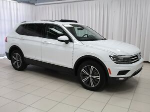 2018 Volkswagen Tiguan Highline! 1.8L Turbo. Heated Leather seat