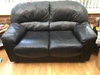 Used 2 seater leather sofa £60 ono