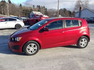 2012 Chevrolet Sonic LS 4 door hatch with air conditioning