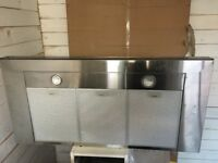 New cooker hood and used gas hob