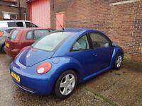 Vw beetle 1.9 tdi 2007/57 full history, 12 mths mot