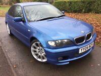 2004 BMW 320D SPORT INDIVIDUAL 4DR* MOT TIL 01.12.17* HPI CLEAR* ONLY 136K* SERVICE HISTORY* 2 KEYS