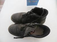 Steel Toecap Boots size 12 light with still plenty of wear in them £5.