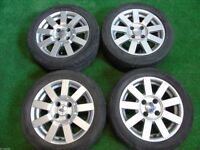"FORD FIESTA ZETEC ST, PUMA, KA 15"" inch ALLOY WHEELS WITH TYRES"