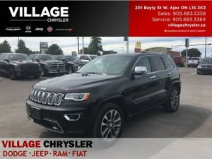 2017 Jeep Grand Cherokee Overland|Nav|Tow|Safty/Tech|Panoroof