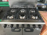 GAS COOKER UNDER OVEN CATERING COMMERCIAL TAKE AWAY RESTAURANT EQUIPMENT KITCHEN FAST FOOD