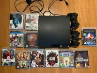 Sony Playstation PS3 Bundle - Console, controllers and games