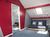 Attic Living Area and Separate Bedroom for Rent, All Bills included, Wi Fi, Freeview TV