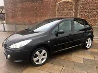 2007 PEUGEOT 307 HATCH / IMMACULATE / LOW MILES / FULL LEATHER /FULL MOT .