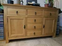 Oakland solid oak cabinet