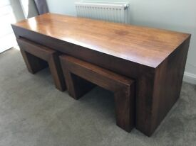 Excellent Condition *NEXT* Coffee Table [Nested]