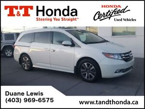2015 Honda Odyssey Touring - No Accidents, NAVI, Back Up Camera
