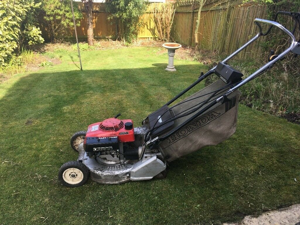 honda hr194 petrol mower in poole dorset gumtree. Black Bedroom Furniture Sets. Home Design Ideas