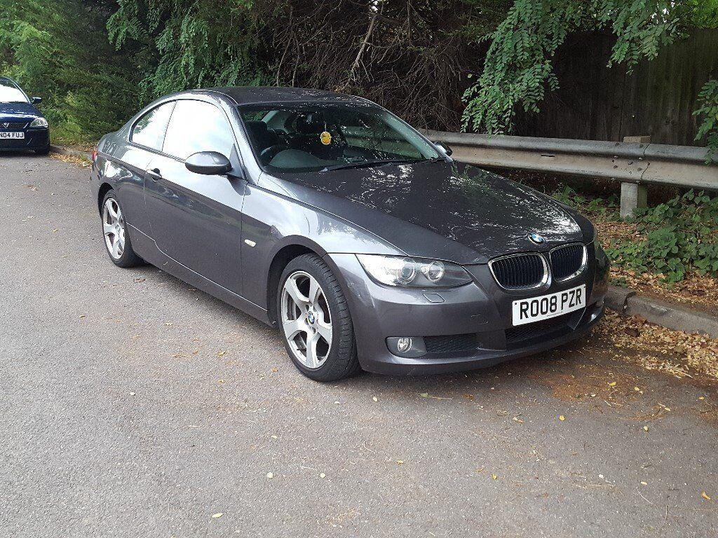 2008 BMW e92 320i SE, manual, clothes interior, 104500 mileage