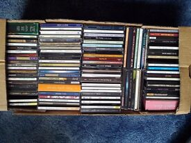 A CD bundle of over 125 items