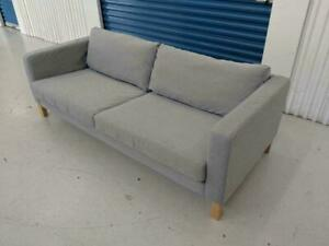 ExcellendtCondition IKEA Karlstad Sofa Knisa light gray. FREE DELIVERY
