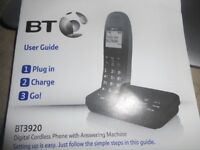 BT answer phone and triple phones