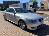 2005 05, BMW 525d MSPORT AUTO, 104K, FSH, MOT, SATNAV, LEATHER, XENONS, I-Drive