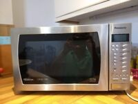 Panasonic NN-A574S 27 litre Microwave Oven, Stainless Steel