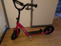 pink scooter for sale as good as new