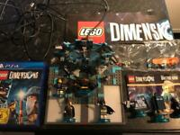 PS4 Unboxed Lego Dimensions Starter Kit