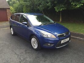 FORD FOCUS ESTATE 1.6 TDCI DIESEL TITANIUM 5DR FULL SERVICE HISTORY 1 FORMER KEEPER £30 A YEAR TAX