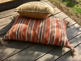 Large floor cushion Moroccan style