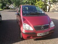 Automatic Mercedes A-class - spares or repair