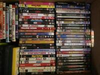 65 DVDs for sale Joblot car boot sale bargain