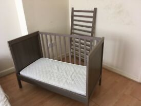 Ikea Sundvik Cot Bed in brown