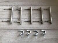 Drawer Handles + Curtain Tie Back Hooks