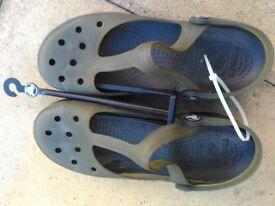 Crocs, shoes, sandals, summer wear