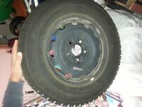 Cooper 215/70/R16 Winter Tires with Rims