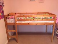 Cabin bed/mid sleeper including mattress
