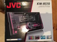 JVC KW-R510 cd player / stereo with USB/AUX, digital track expander and digital processing tuner