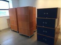 Wooden Storage Units - Job Lot