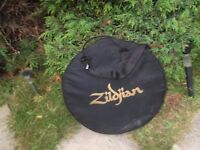 zildjain cymbal bag used but in good condition