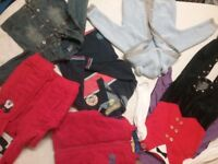 Massive bundle of clothes for boys 1-2 years coats jumpers pyjamas trousers NEXT M&S HILFIGER DISNEY