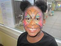 Facepainter available! Face painter for any events or parties around London