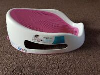 Pink Angel Care Bath Support in excellent condition