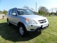 2003 HONDA CR V..MOTED TO JUNE 2018....POSSIBLE PART EXCHANGE.CREDIT CARDS ACCEPTED