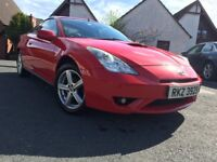 2006 Celica - Only 75k miles, FSH & MOT to May '19