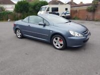 CONVERTIBLE PEUGEOT 306 2003 FULL BLACK LEATHER Drives Like New