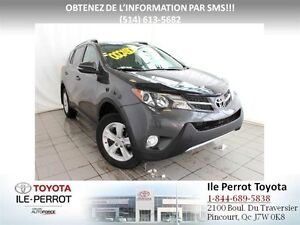 2013 Toyota RAV4 XLE, TOIT OUVR, CAM RECUL, MAGS, BLUETOOTH