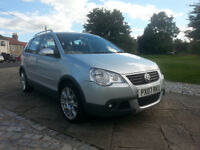 2007 Volkswagen Polo 1.4 TDI, Dune, Low 71500 miles, v5, service history, MOT until July 2017.