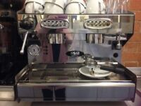 SAB Commercial coffee Machine & Coffee grinder