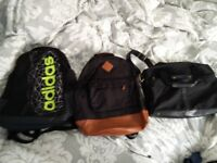 2 sport bag + document bag, any for 5£