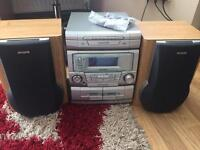 Cd radio tape player fully working